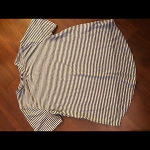 Stripped shirt sleeve